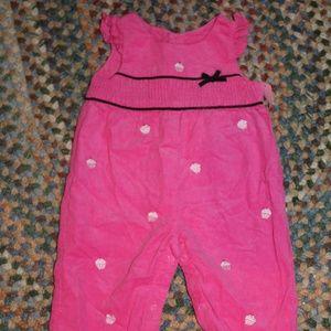 Hartstrings corduroy romper jumpsuit 3-6mos infant